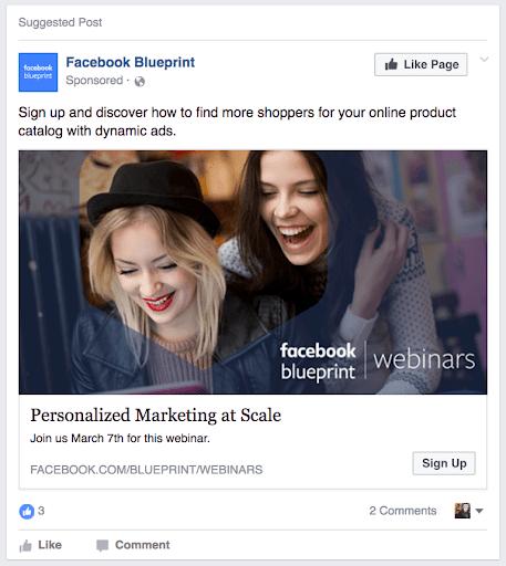 Facebook  Anuncio - Plan de anuncios