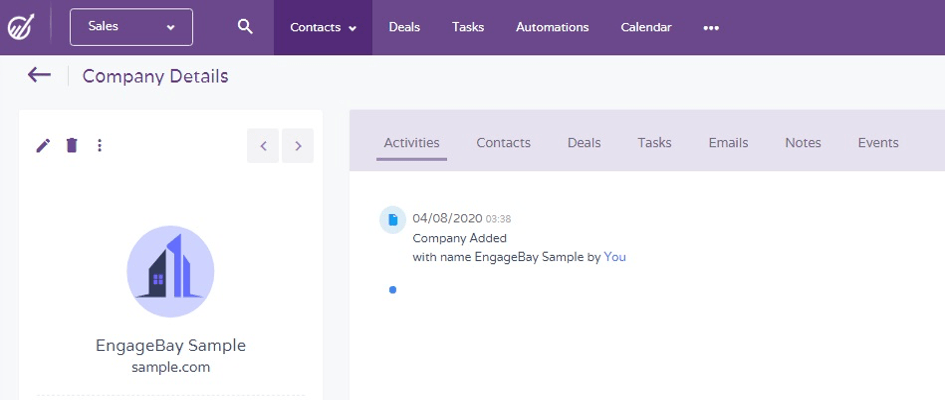 Revisión de EngageBay: una herramienta todo en uno para administrar su negocio sin problemas 17