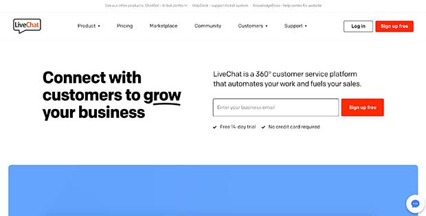 aplicación livechat bigcommerce