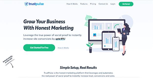 aplicación trustpulse bigcommerce