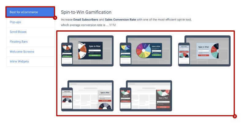 Hacks de crecimiento para bloggers: cree una gamificación de Spin-to-Win