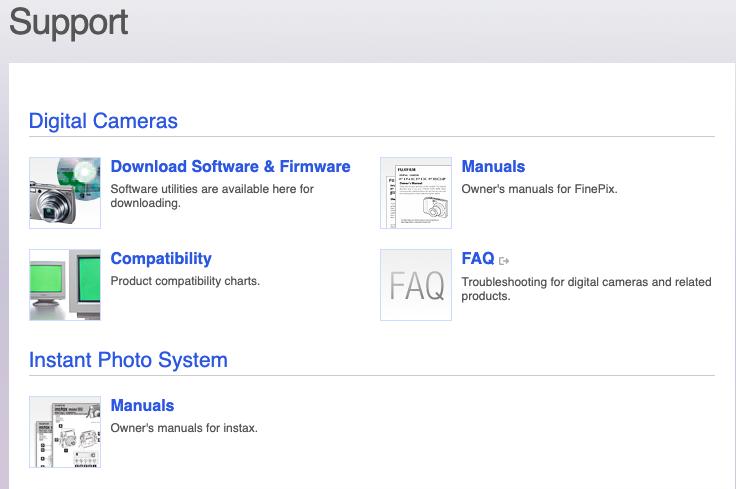 atención al cliente de Fujifilm