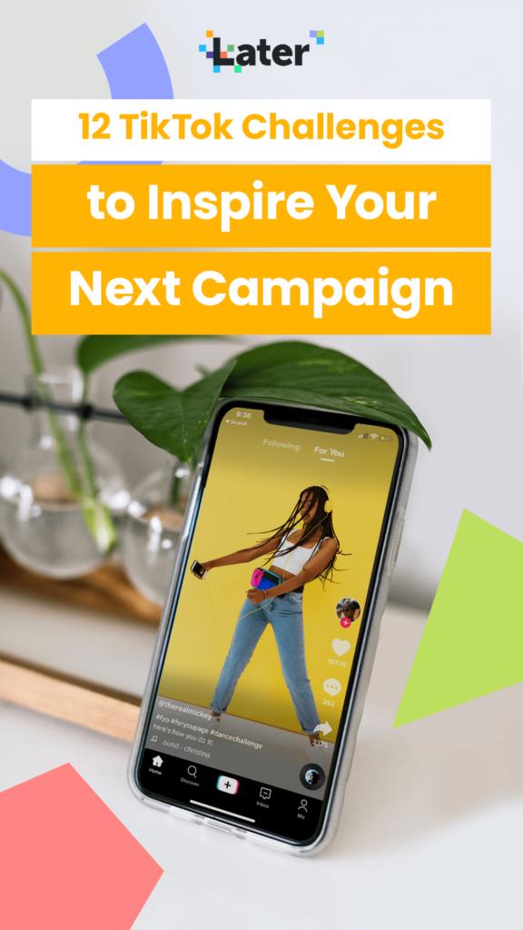 12 desafíos de TikTok para inspirar tu próxima campaña