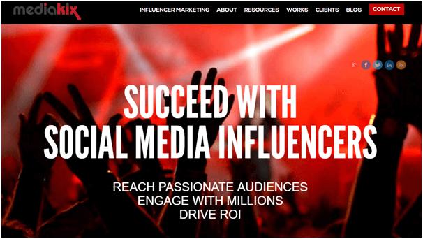 Mediakix Influencer Marketing Agencias