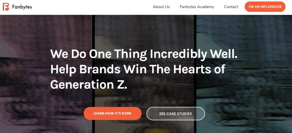Agencia de Marketing Influencer de Fanbytes