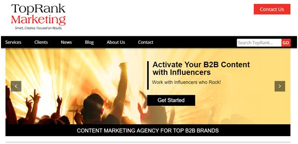 TopRank Marketing Influencer Agencias de Marketing