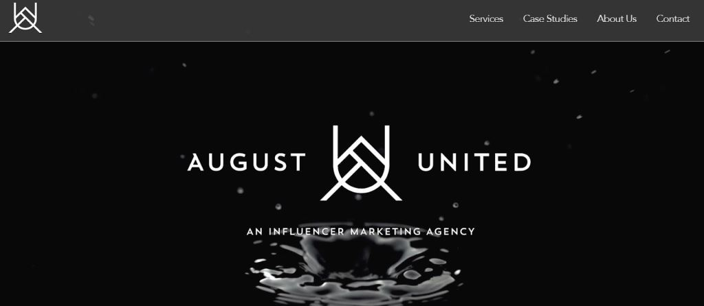 August United Influencer Marketing Agency
