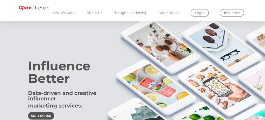 Agencia de Marketing de Influencer de Openinfluence