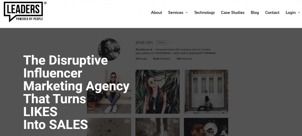 Agencia de marketing de líderes influyentes