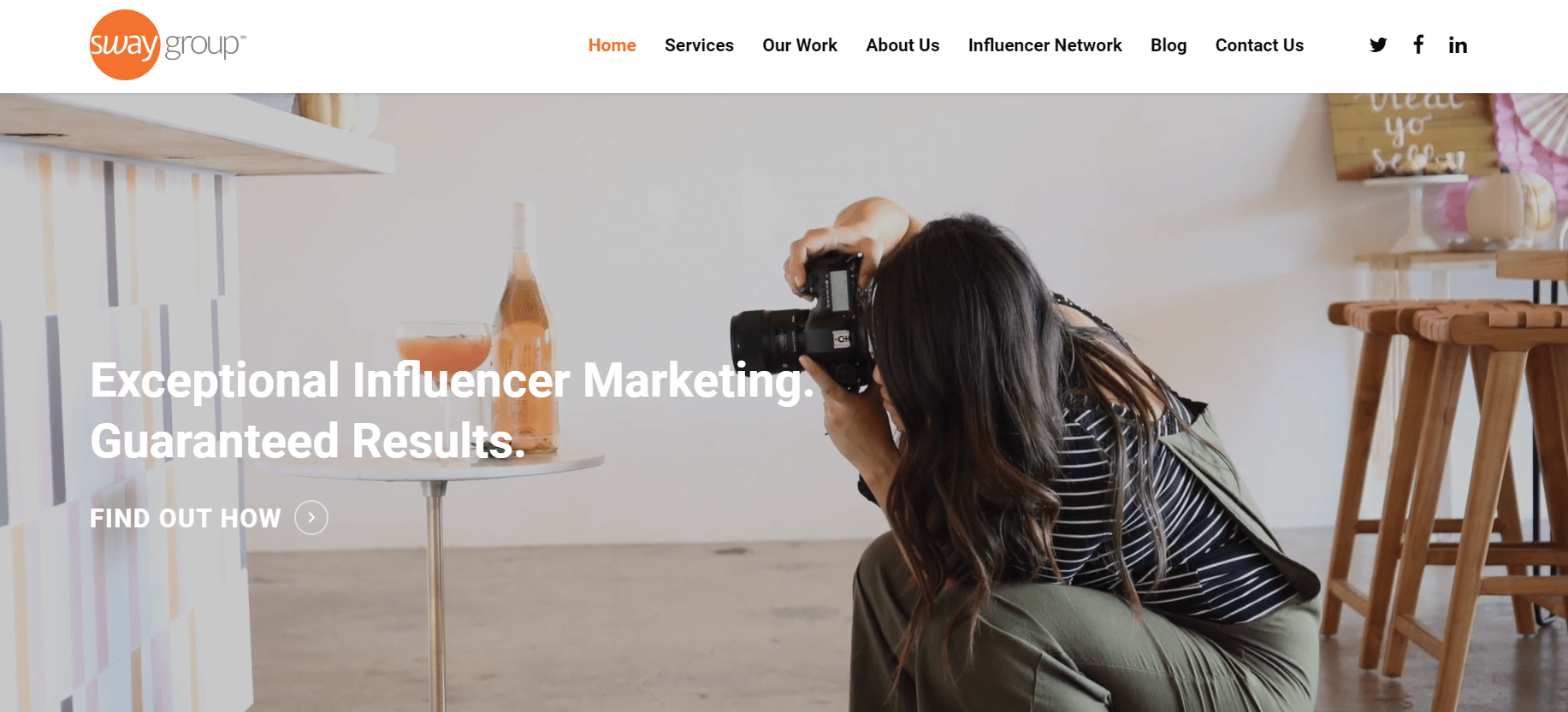 Sway Group Influencer Marketing Agency