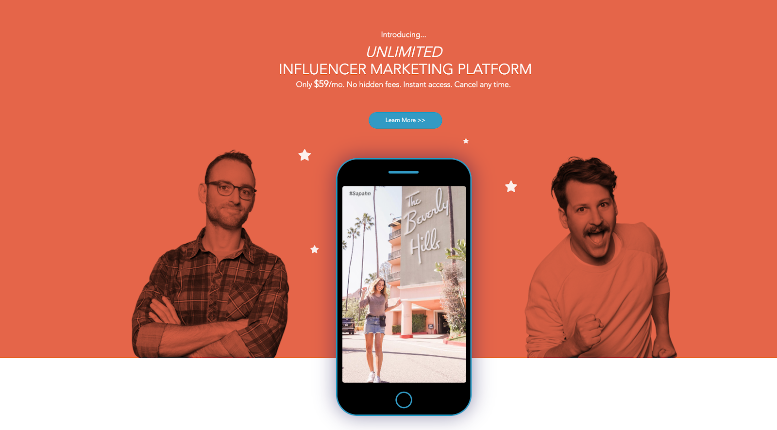 Plataforma de marketing de Influencer de Fourstarzz Media