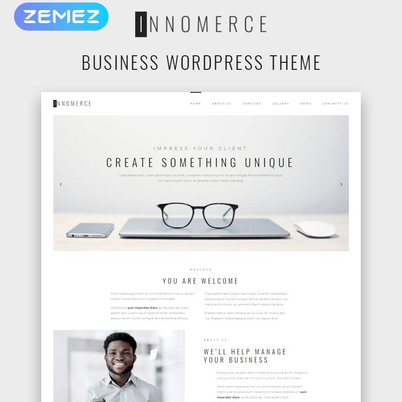 Plantilla de WordPress Innomerce hecha para Elementor