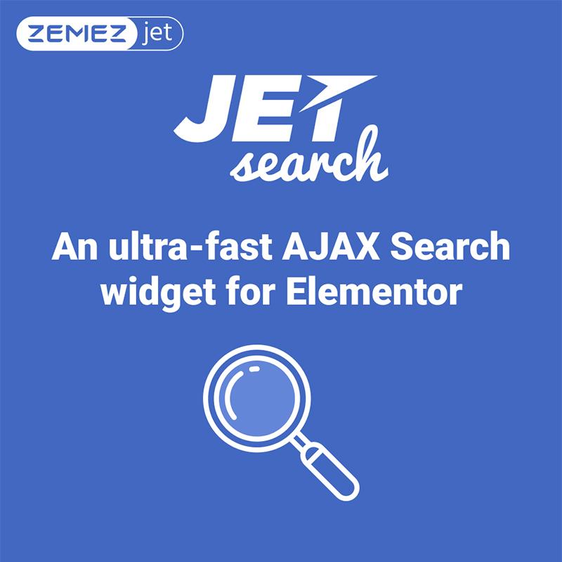 jetsearch el complemento de wordpress compatible con Elementor
