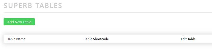 Cómo instalar tablas en tu sitio web de WordPress