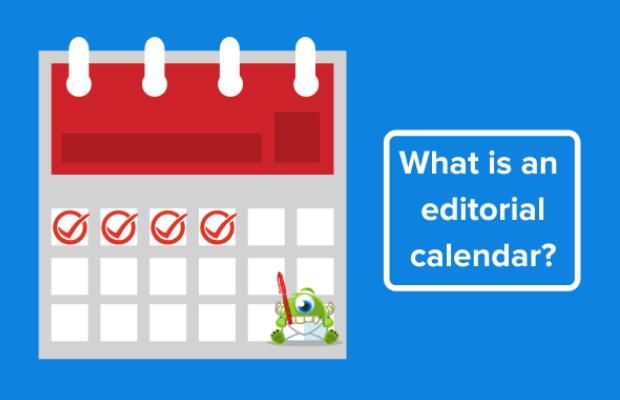 que es un calendario editorial
