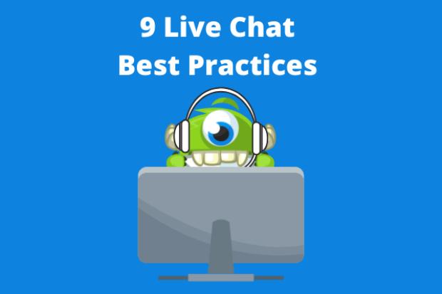 mejores prácticas de chat en vivo