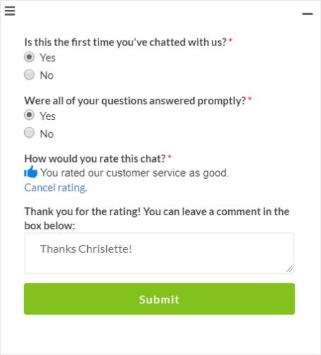 Optinmonster chat en vivo comentarios escritos