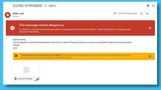 18 millones de correos electrónicos bloqueados-google-link-example