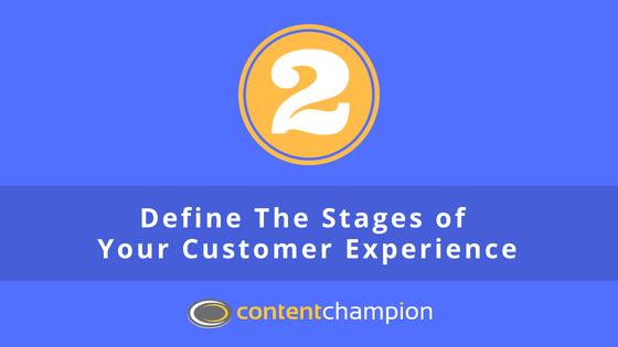 definir etapas de la experiencia del cliente