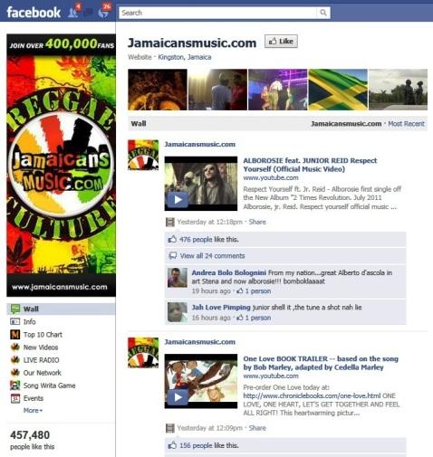 JamaicanosMúsica