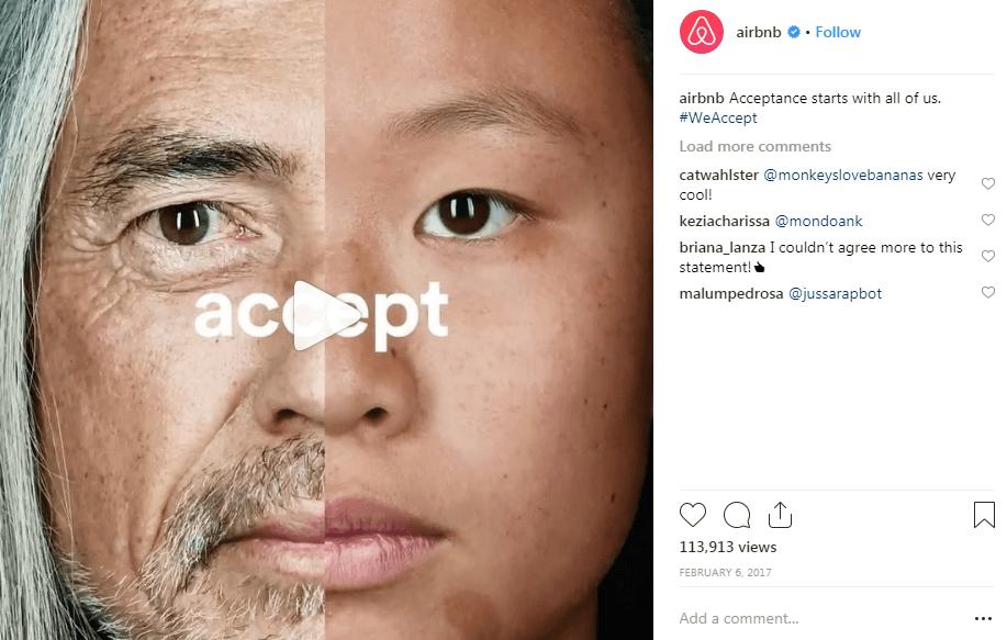 Campañas hashtag instagram de Airbnb