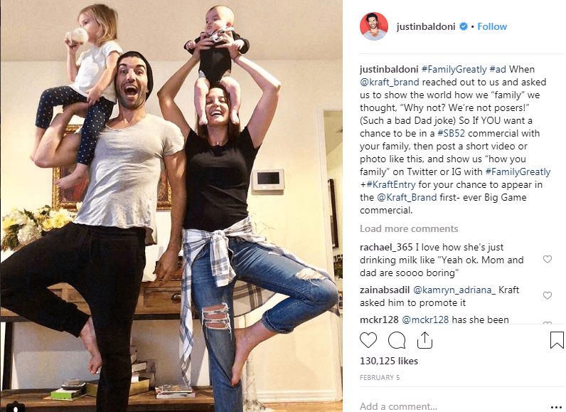 justinbaldoni instagram Hashtag Campaigns