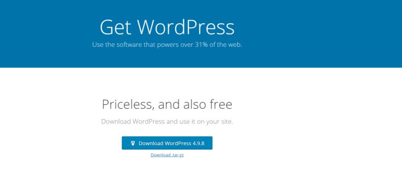 Cree un BLog fácilmente: descargue WordPress