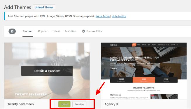 Cree un blog fácilmente: elija un tema