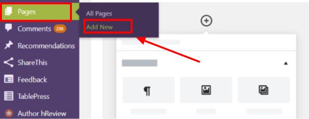 Cree un blog fácilmente: cree una página de contacto