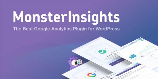 MonsterInsights Google Analytics üçün ən yaxşı WordPress plugin