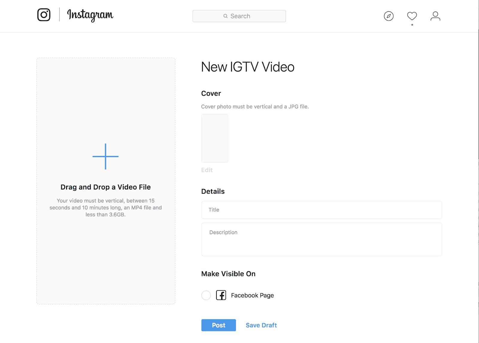 Problemas de Instagram IGTV