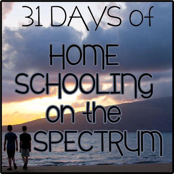 Educación en el hogar en el espectro (autismo) a través de @MommaKnows