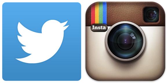 Resultado de imagen para Imagen de un logotipo de instagram y twitter