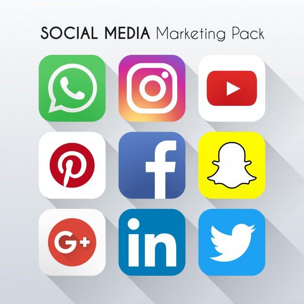 Resultado de imagen para imágenes de logotipos de redes sociales