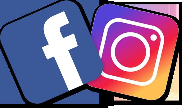 Resultado de imagen para Imágenes de Instagram Facebook Logo