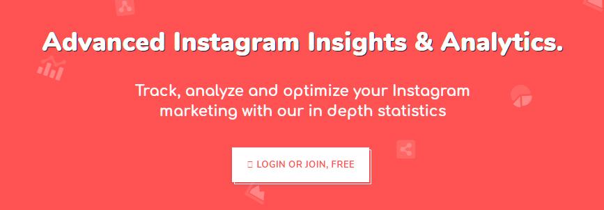 Herramienta de análisis de Instagram Share My Insights