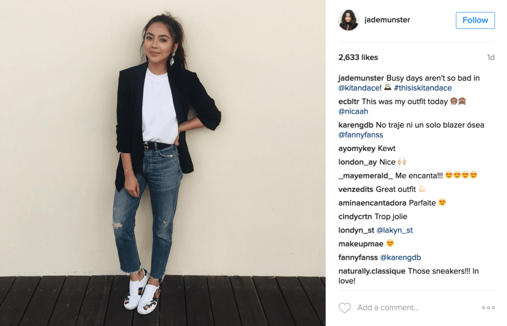 hashtag de instagram de marca