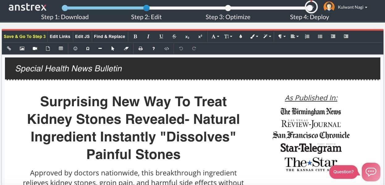 {20% de descuento} Revisión de Anstrex: espionaje de anuncios nativos hecho fácil 14