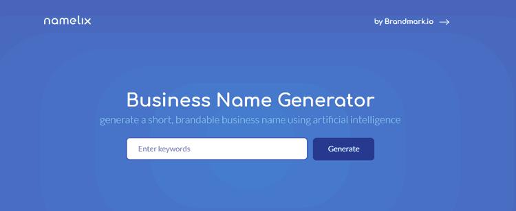 17 Generadores de nombres de blog para encontrar grandes dominios con facilidad 12