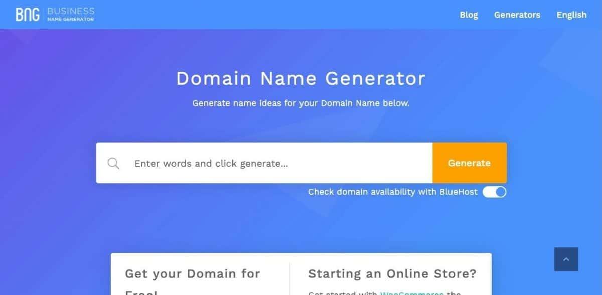 17 Generadores de nombres de blog para encontrar grandes dominios con facilidad 16