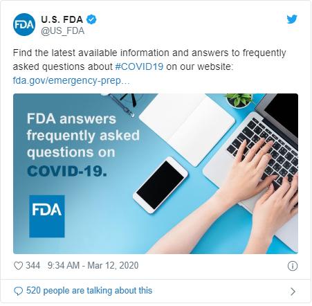 Twitter  cuentas a seguir NDA de Estados Unidos