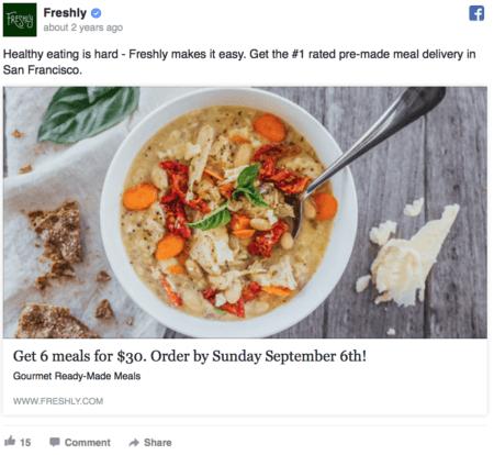 Facebook  Copia de anuncios
