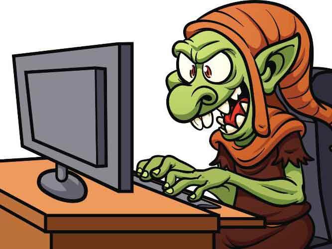Resultado de imagen para Imágenes para Trolls de Internet