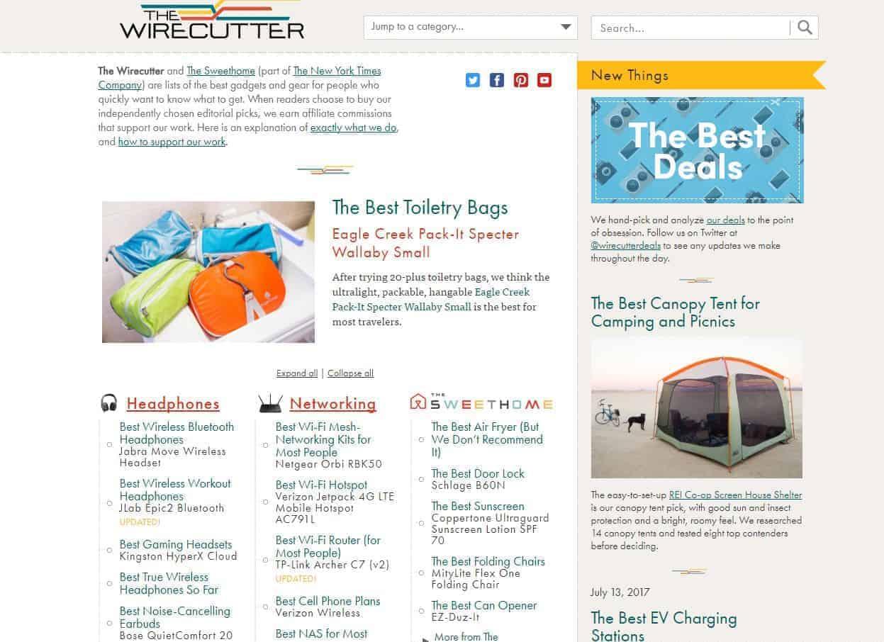 8 Ejemplos de sitios web de marketing de afiliación para aprender de los expertos 25