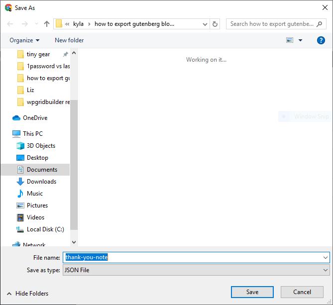 So exportieren und importieren Sie Gutenberg-Blöcke in WordPress 6