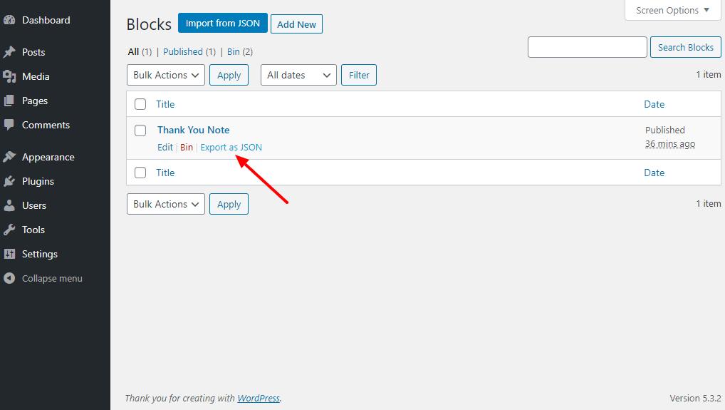 So exportieren und importieren Sie Gutenberg-Blöcke in WordPress 5