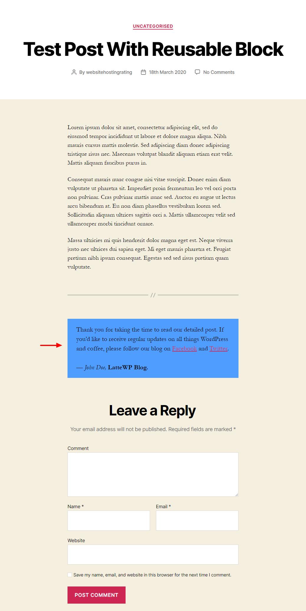 WordPress-də Gutenberg bloklarını necə ixrac və idxal etmək olar 4