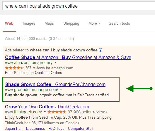 Anuncio de café spot