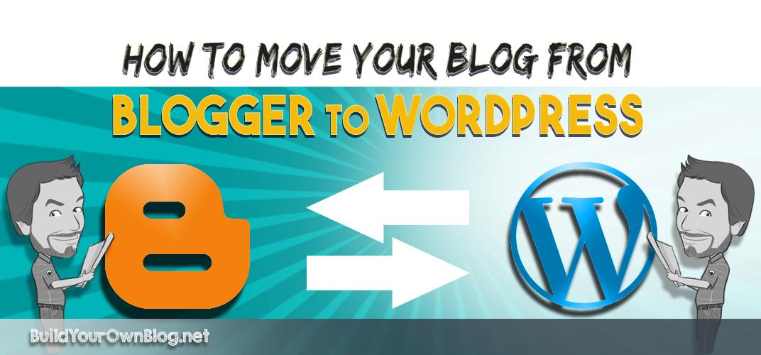 cómo mover tu blog de Blogger a WordPress