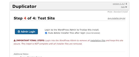 Finalizando la migración de WordPress a un nuevo nombre de dominio